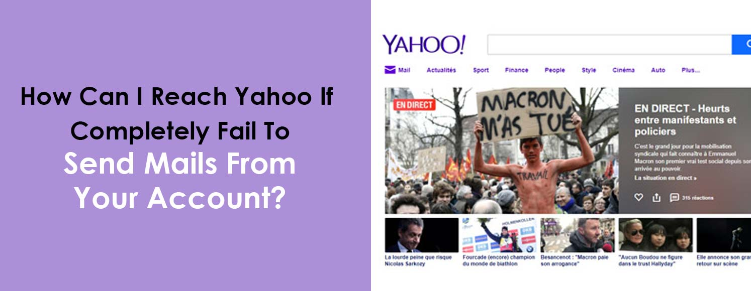 How Can I Reach Yahoo Experts If Can't Send Emails?